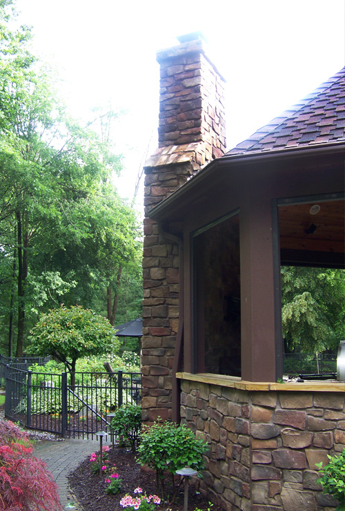 outdoor living after photo