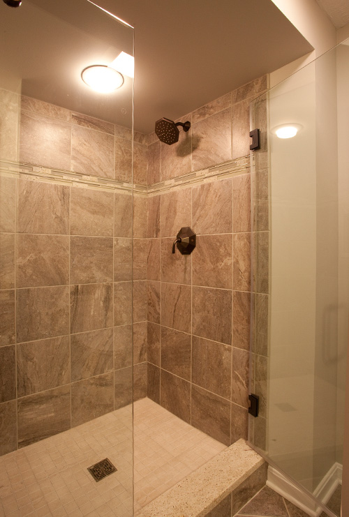 living underfoot shower after photo