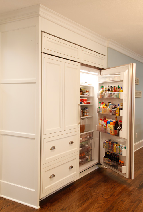 kitchen fridge after