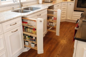 Spice drawer pull-outs