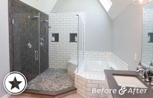 A Fresh Start – A Total Bathroom Transformation