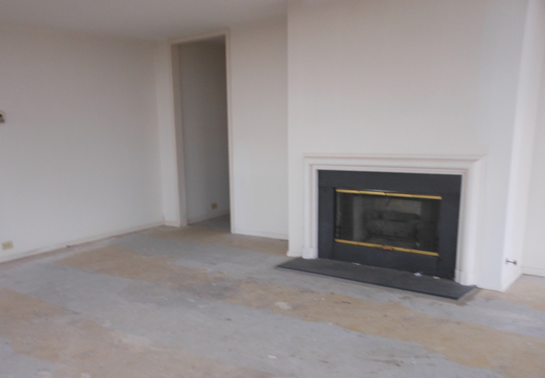 Original gas fireplace no longer permitted in building
