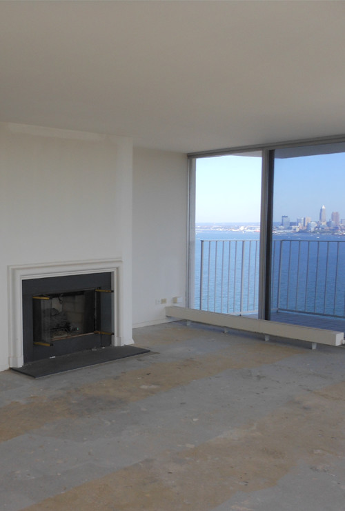 Gold Coast Corner Penthouse – Before Photo