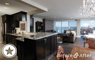 Penthouse Renovation on Lakewood's Gold Coast