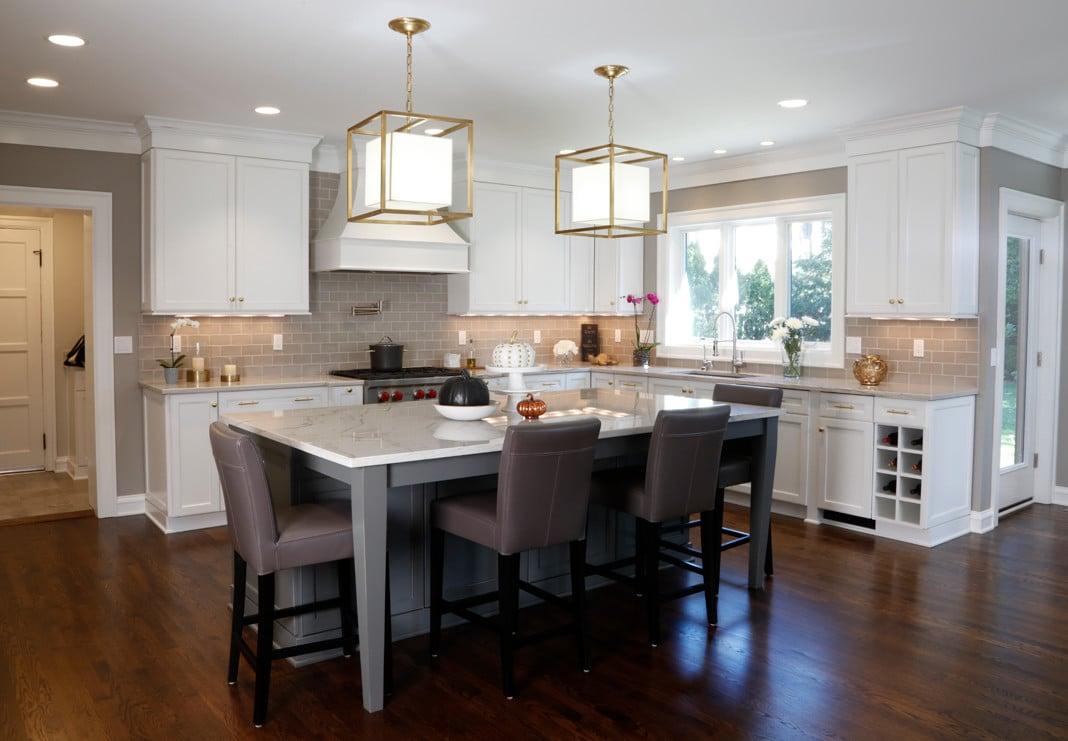 spacious gourmet kitchen