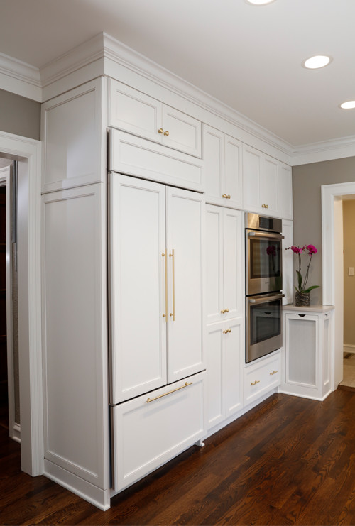 Built-ins, Dual Ovens and Refrigerator