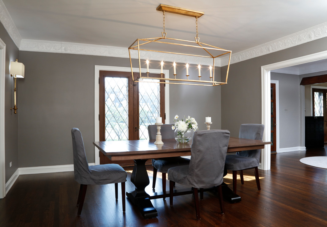Dining Room with beautiful hardwood floors