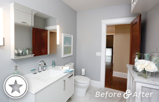 Historic Home Bathroom Makeover