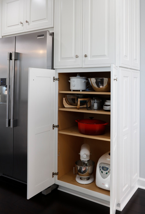 Kitchen Pantry Storage Cabinet with Shelves