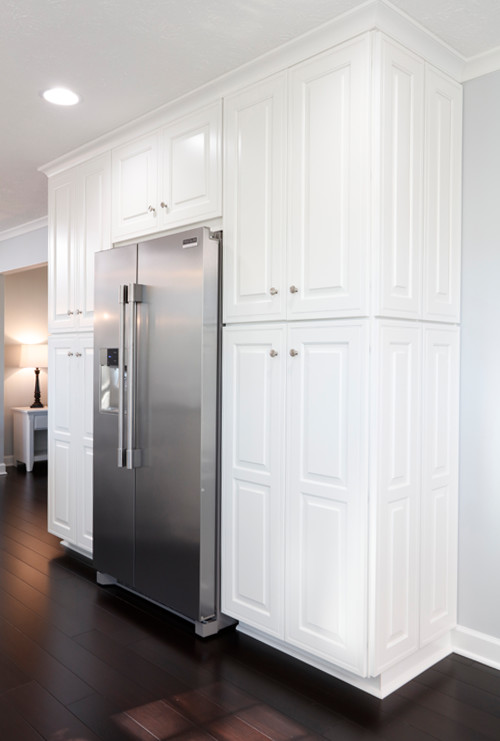 Pantry Storage Beside Refrigerator
