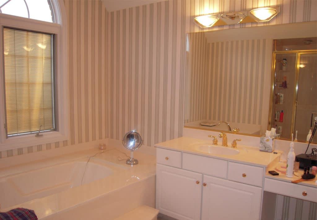 Bathroom Tub - Before Photo