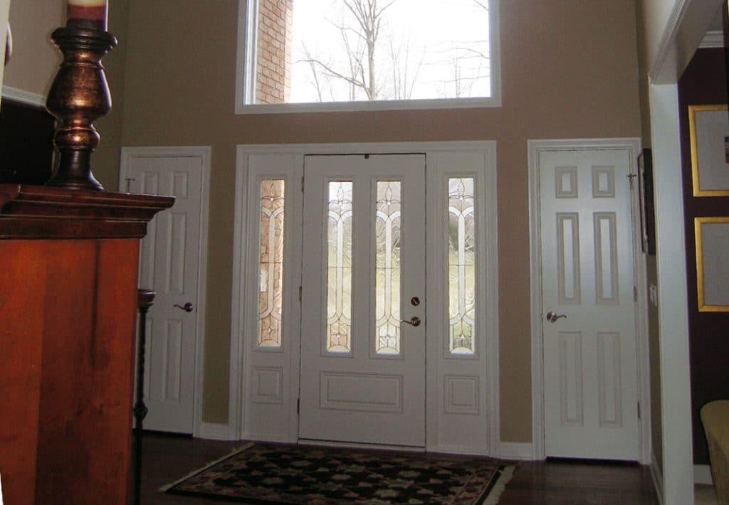Front Door Entryway - Before Photo