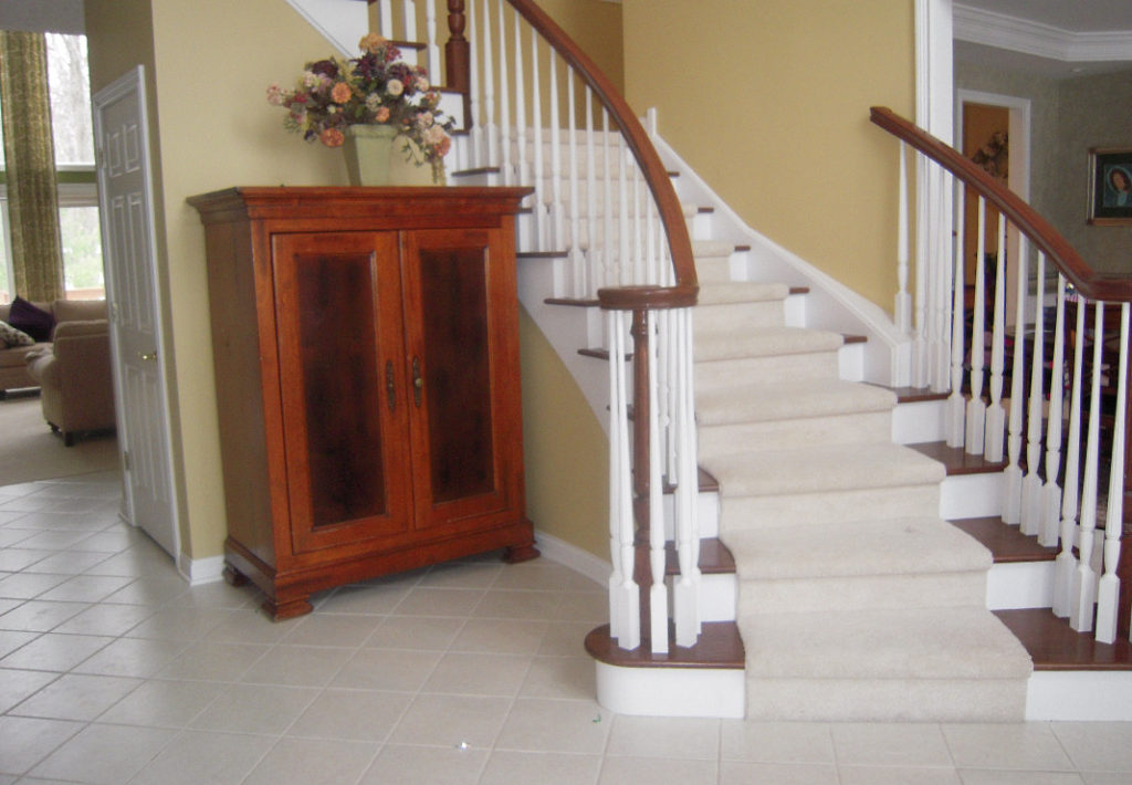 Entry Stairway - Before Photo