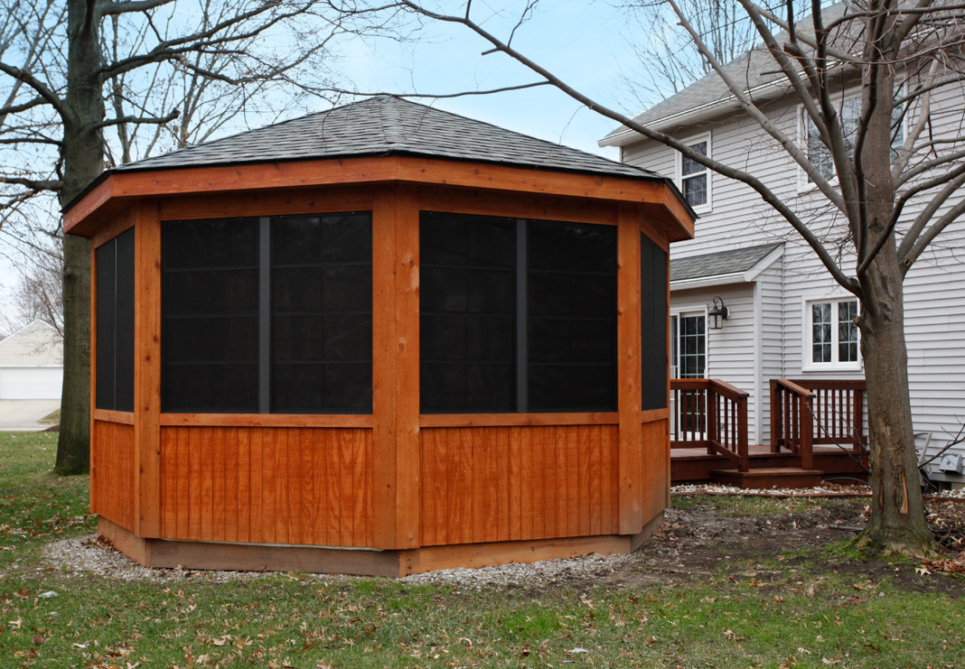 octagon gazebo-like enclosure