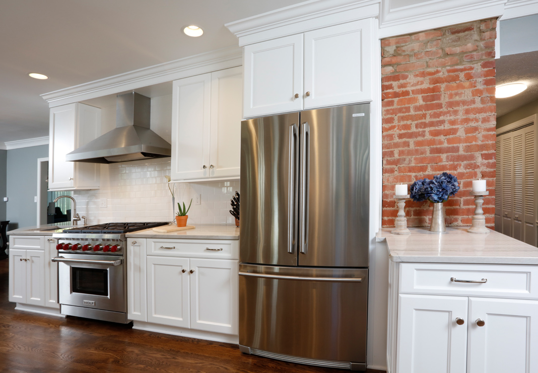Bright Open Kitchen