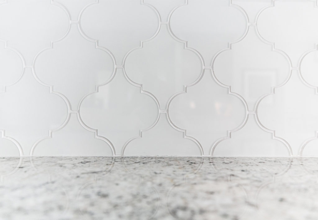 Kitchen Backsplash and Counter Top Detail