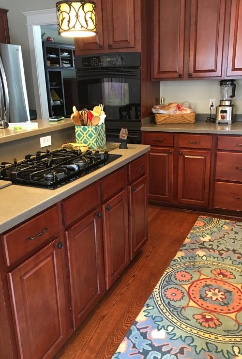 Before Cramped Kitchen