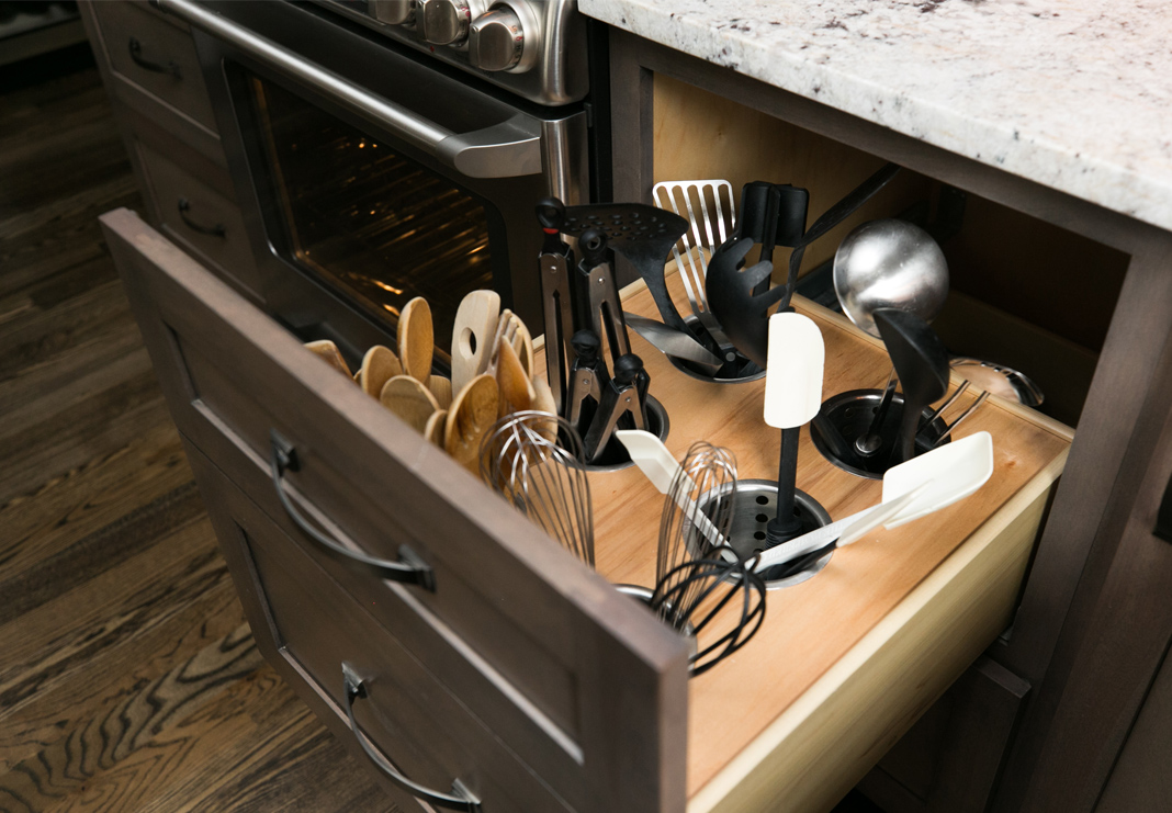 Utensil Drawer Custom Storage