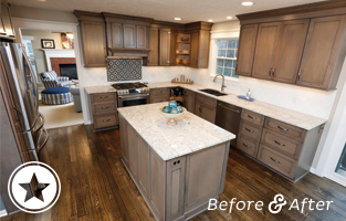 Kitchen Built-Ins Add Functionality