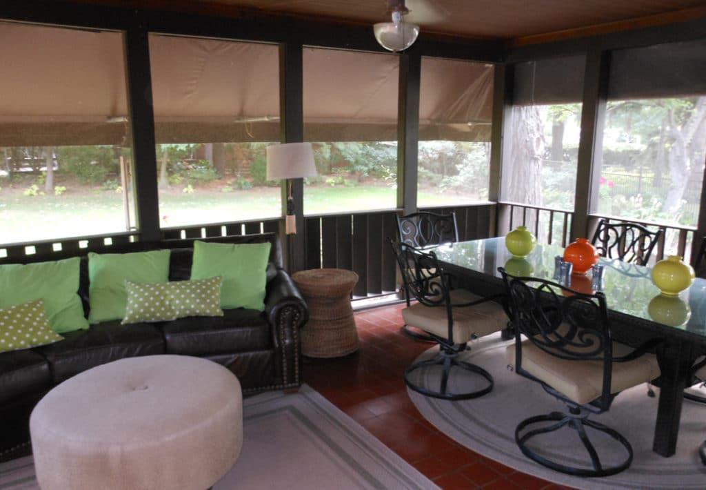 Original Porch Interior