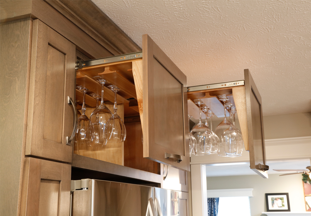 Wine Glass Storage