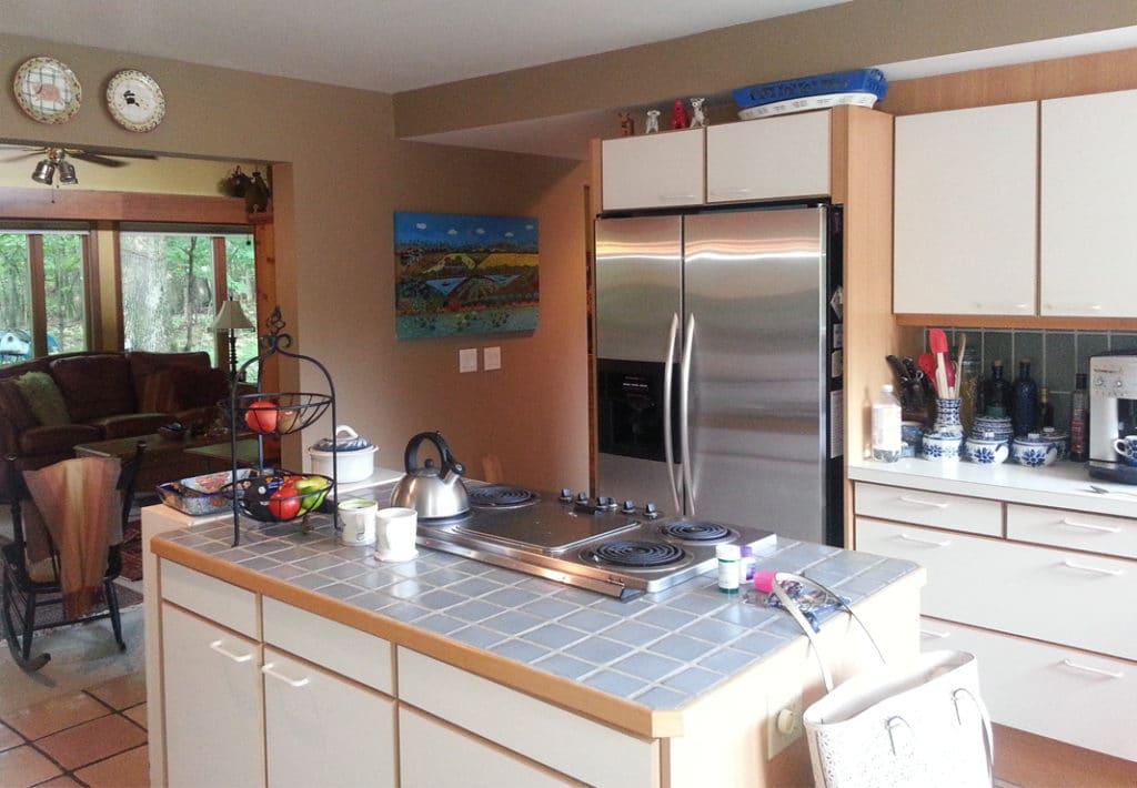 Before Kitchen Island