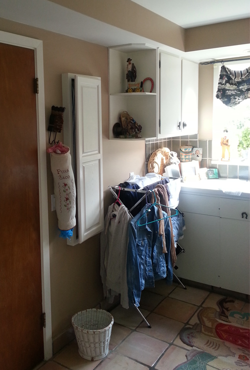 Before Laundry Room Storage