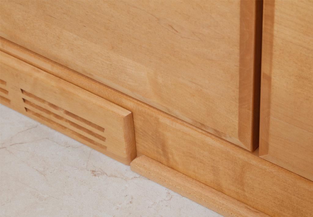 Detailed Built-In Cabinetry