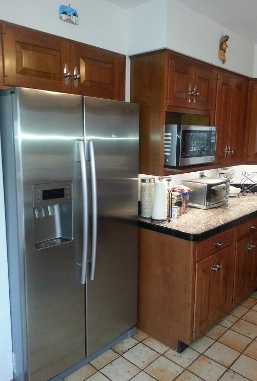 Before Kitchen Refrigerator