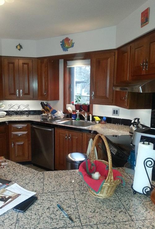 Before Kitchen layout