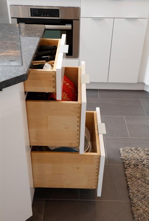 Island Drawer Storage