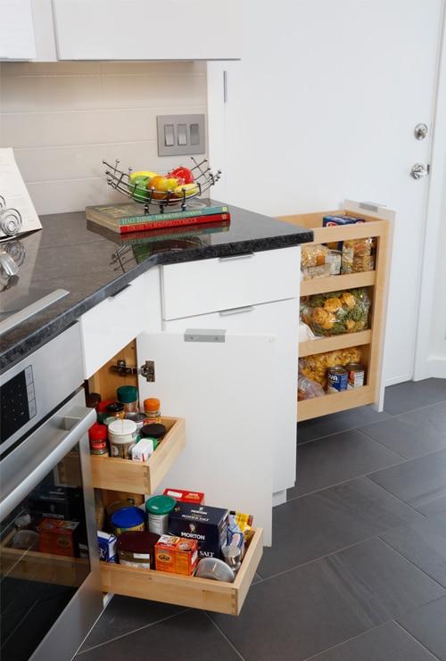Kitchen Cabinet Storage