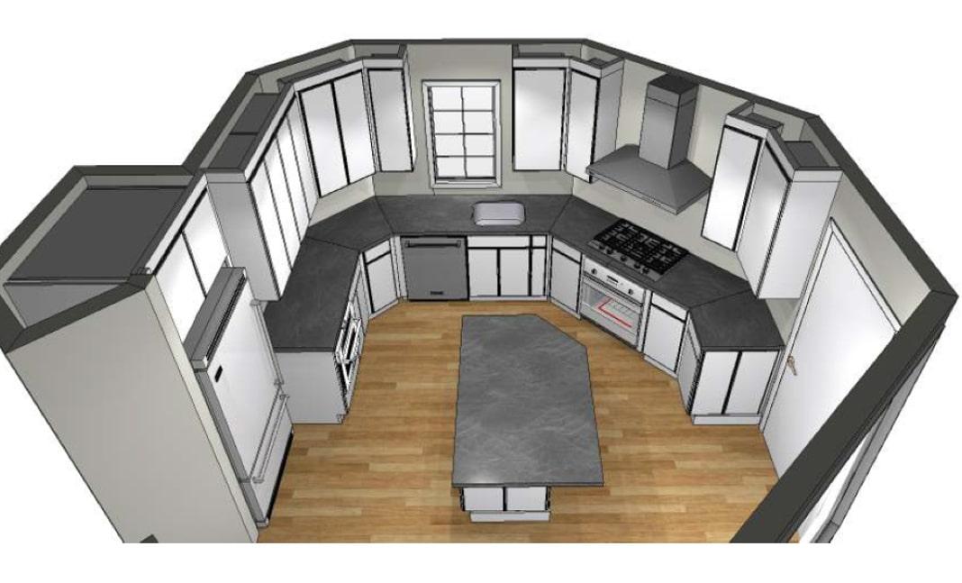 New Kitchen Rendering