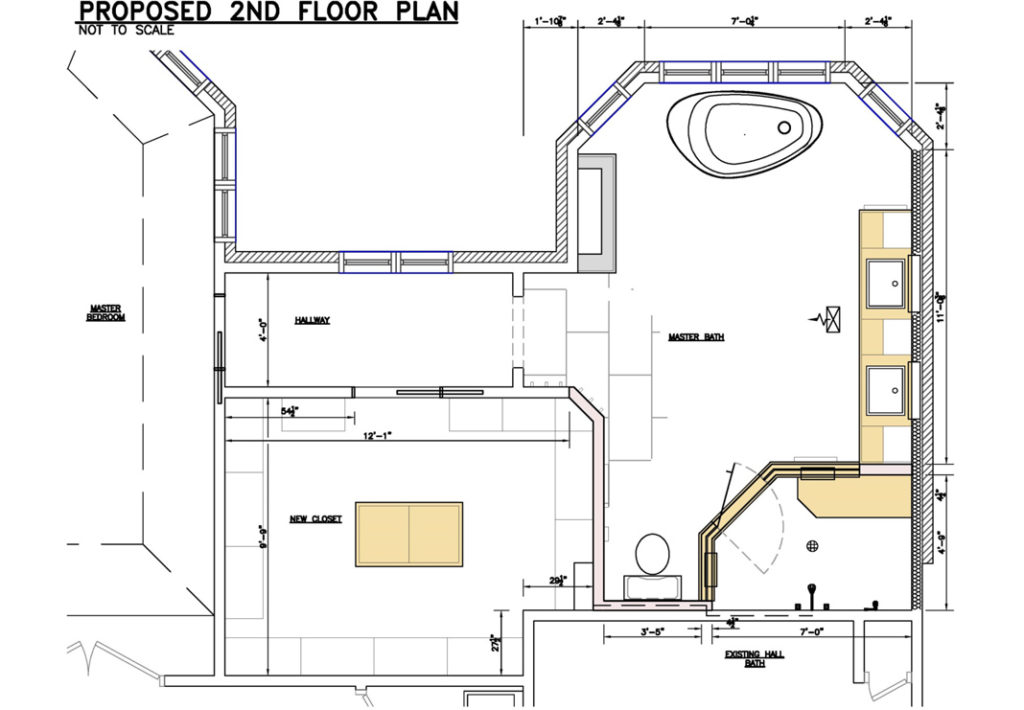 After-Bathroom Floor Plan