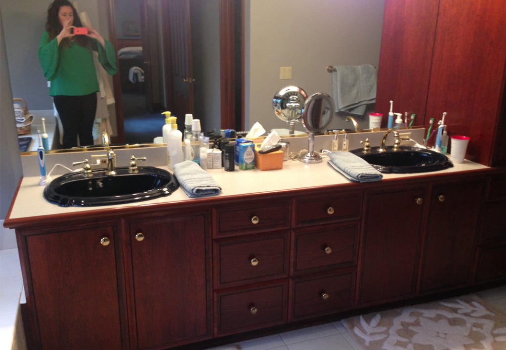 Before: Double Vanity