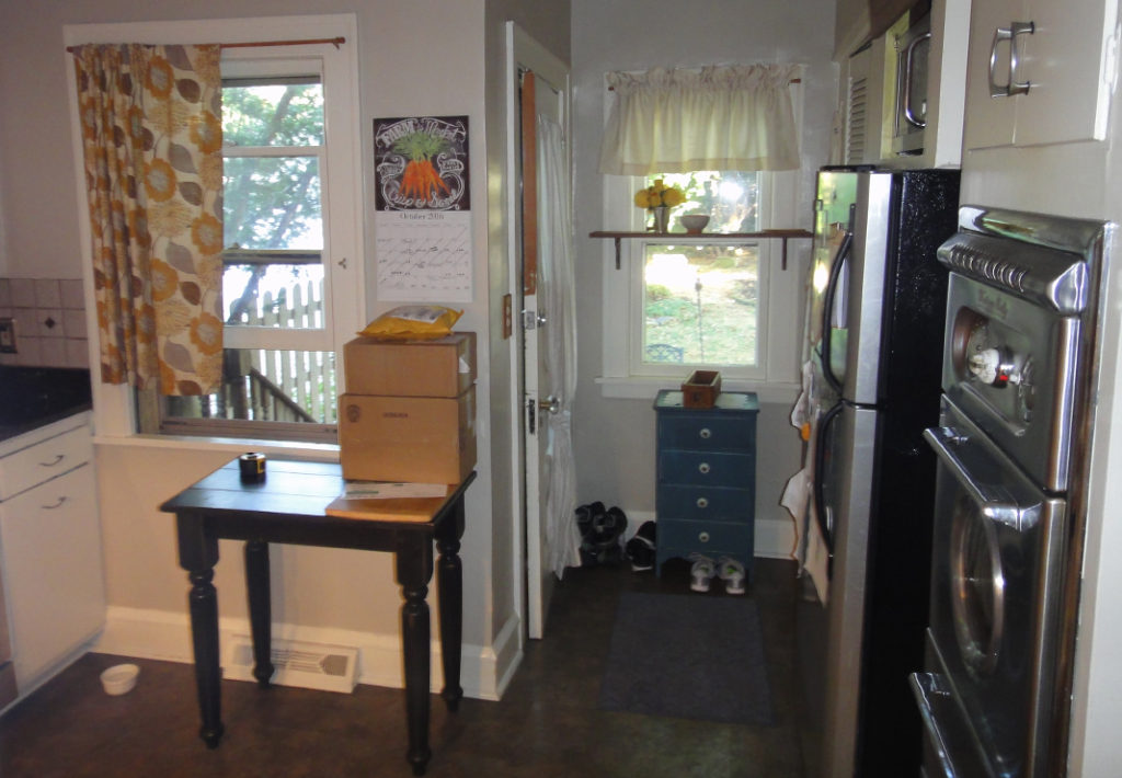 Before: Mudroom