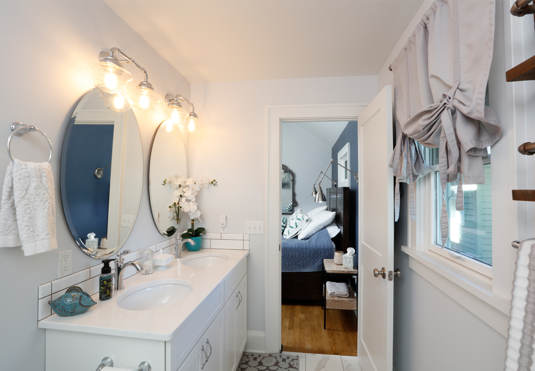 Bright Airy Bathroom Addition