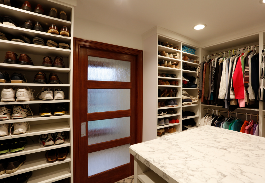 Closet Shoe Shelves