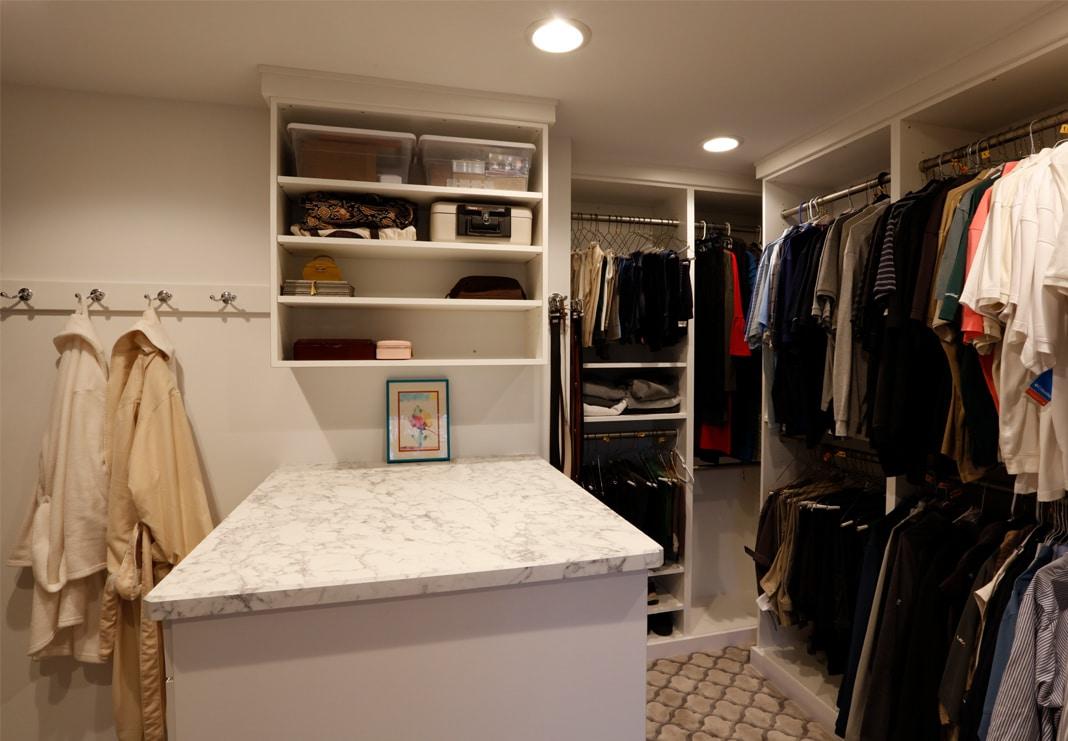 Expaned Closet