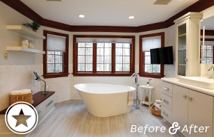 Spa-inspired Master Bath Renovation