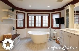 Spa-inspired Master Bath Renovation
