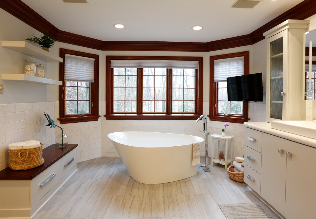Spa-like Bathroom Renovation