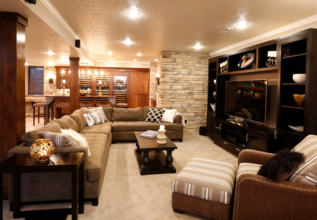 Beautifully Updated Basement