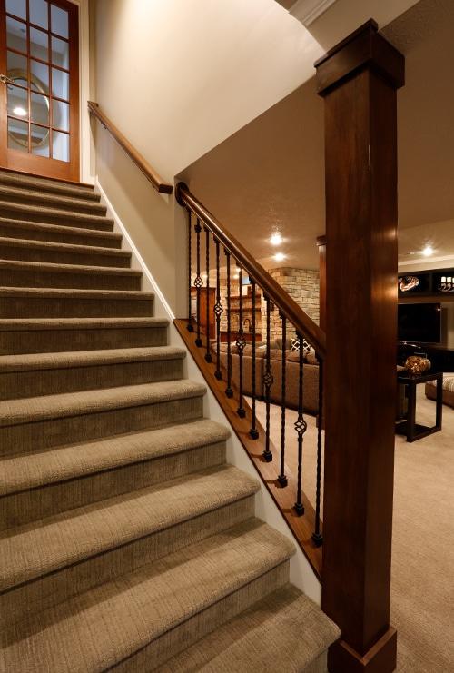 Partial Open Stairway