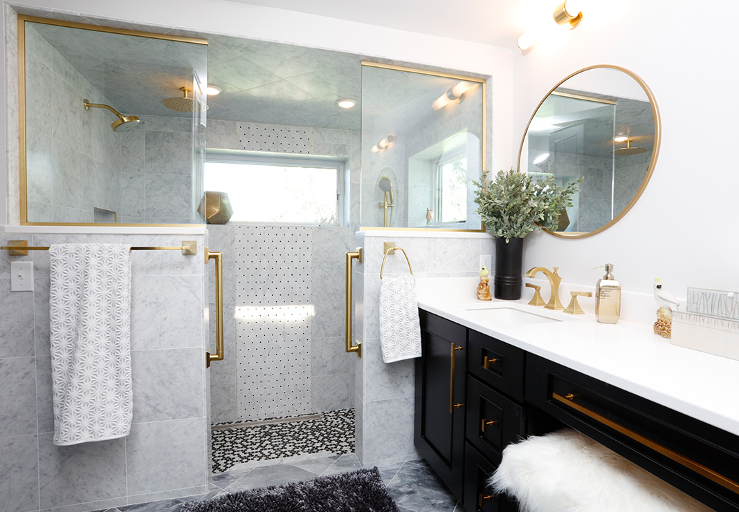 Chic Bathroom Remodel