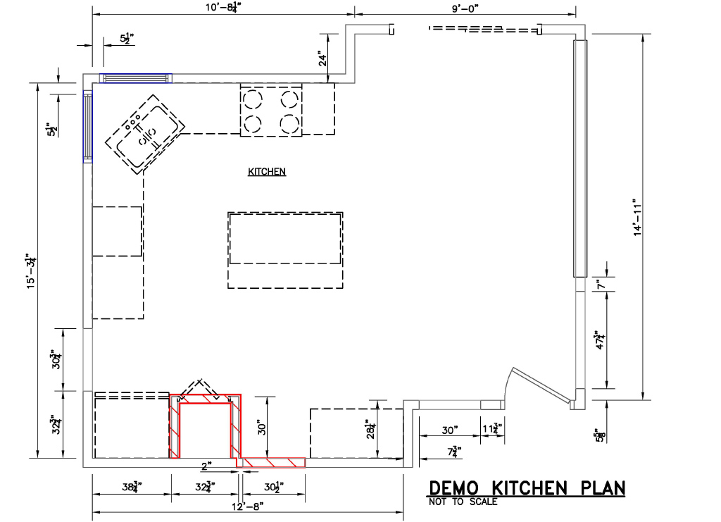 Demo Kitchen Plan