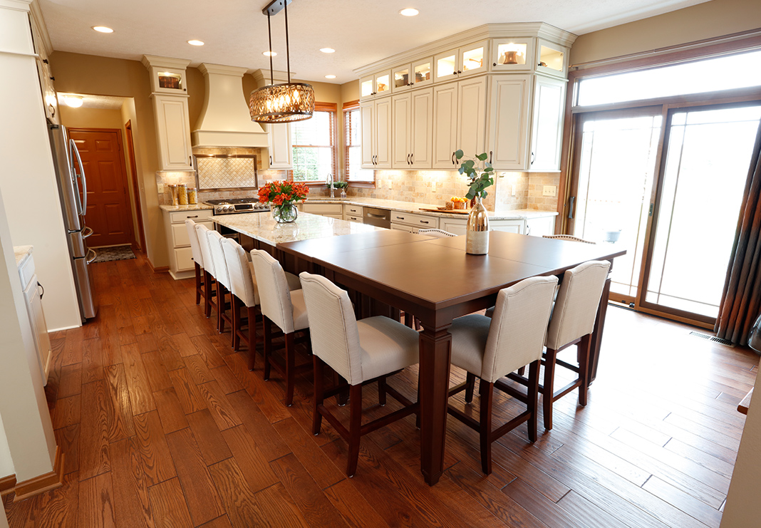 Extended Kitchen Seating