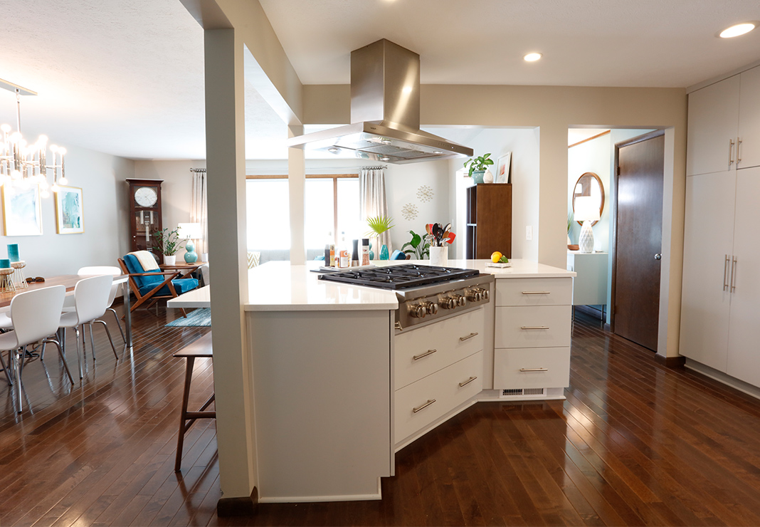 Kitchen Island Peninsula