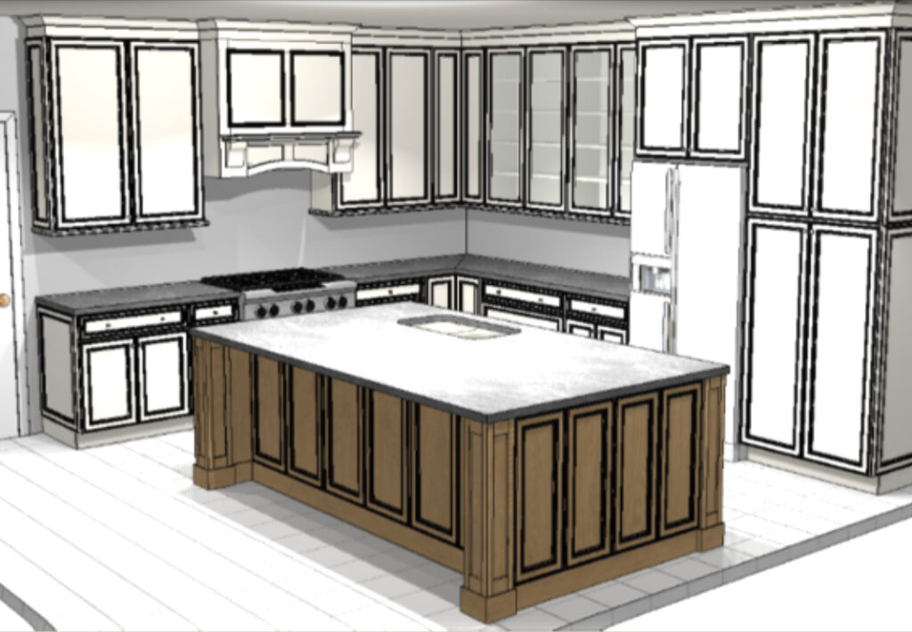 Kitchen Renovation Model
