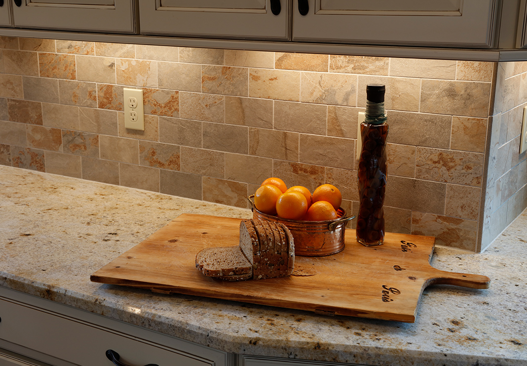 Rustic Tile Backsplash